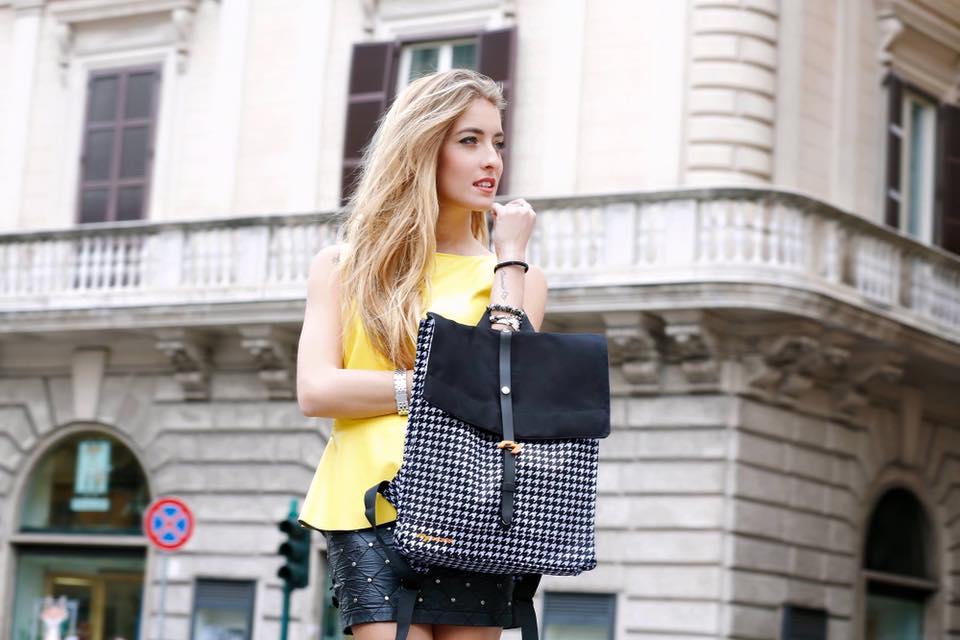 Luxusní designový batoh