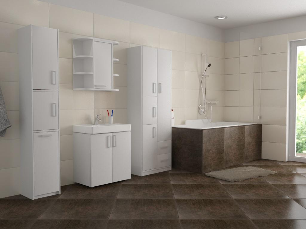 Inspirace na nábytek do koupelny, foto: dona-shop.cz