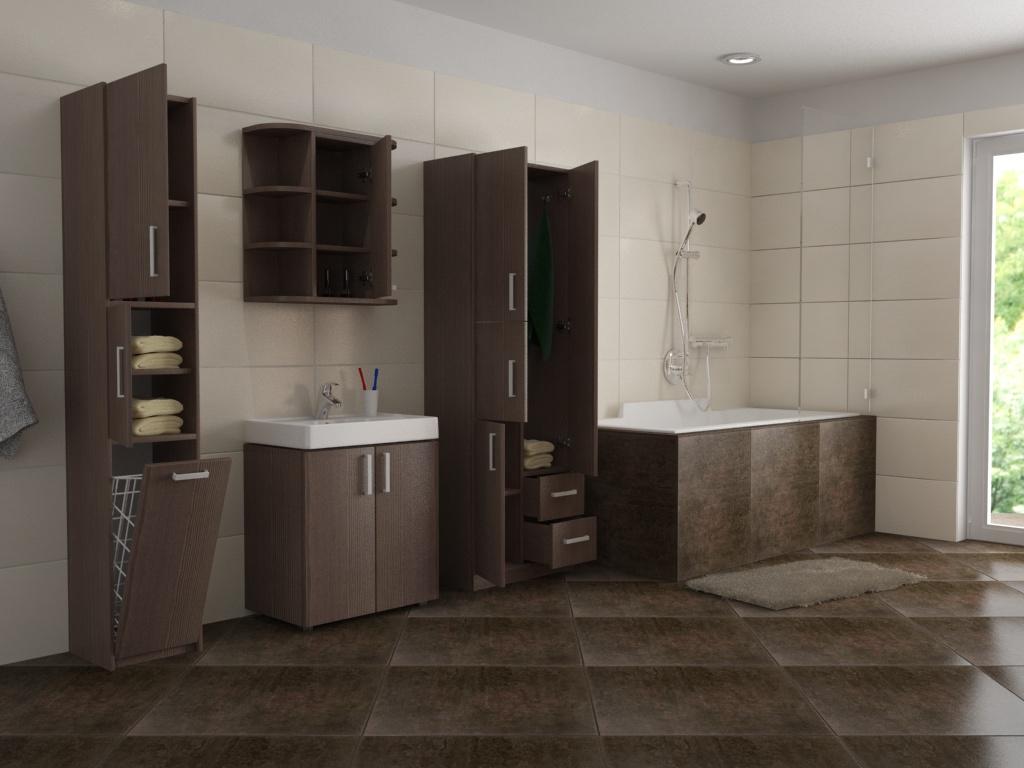 Inspirace na koupelnový nábytek, foto: dona-shop.cz