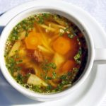 Kuřecí polévka Kluci v Akci