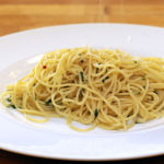 Spaghetti aglio olio e peperoncino Kluci v akci