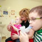 Lázně Luhačovice pomáhají dětem od 1,5 roku